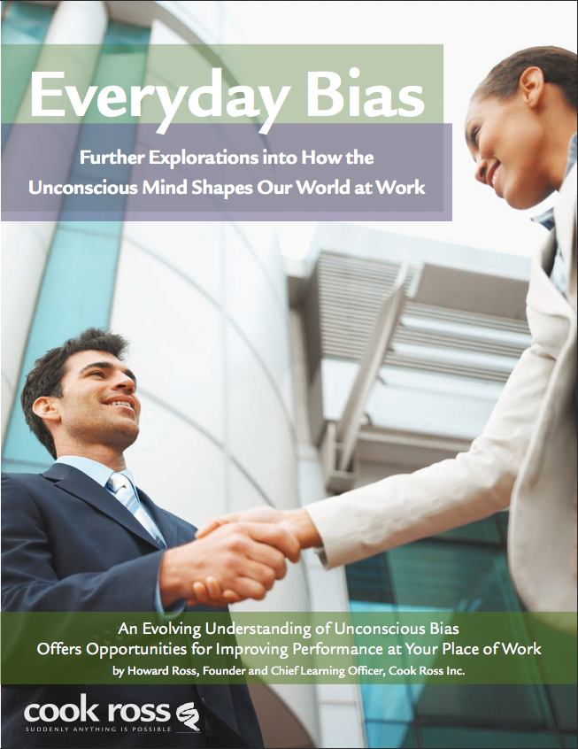 assessing an unconcious client Avoiding unconscious bias at work - avoiding accidental discrimination  face  every day would be overwhelming if we had to consciously evaluate every single  one  cultures, which can better meet the needs of customers around the world.