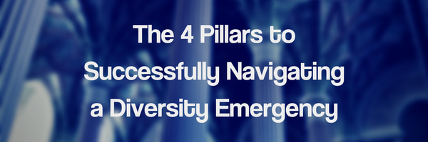 The 4 Pillars To Successfully Navigating a Diversity Emergency